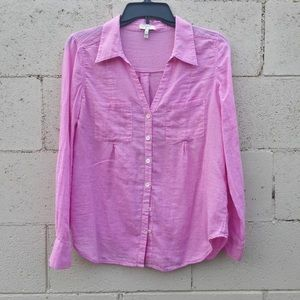 Joie Gingham Blouse